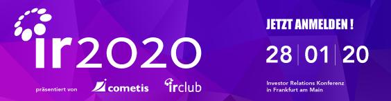 IR2020 - jetzt anmelden!